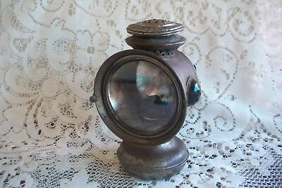 Antique Bicycle Bike Kerosene Lamp Improved Banner P&A USA Complete