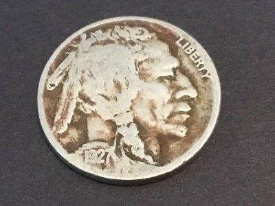 "1927 US ""Buffalo"" nickel"