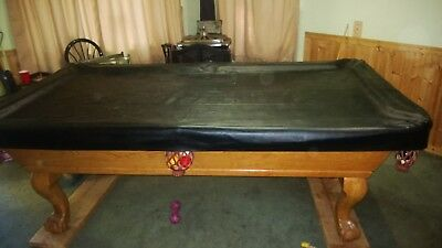 FOOT POOL TABLE WBALL CLAW LEG BOCA RATON By BERNER BILLIARDS - Claw foot pool table