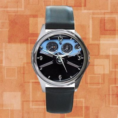 Ric DEAL !! Mg Mga 1600 1960 Cabriolet Black Steering Round Metal Watch