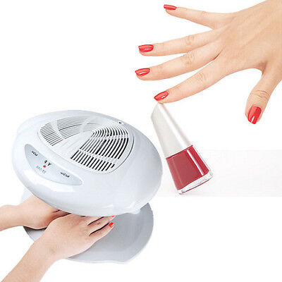 Warm & Cool Blower Fan Nagellack Finger-Zehe-Trockner Make-up Breeze Sensor