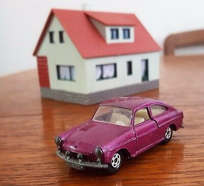 Matchbox Superfast Series no.67 Purple Volkswagen 1600TL Lesney Made in England