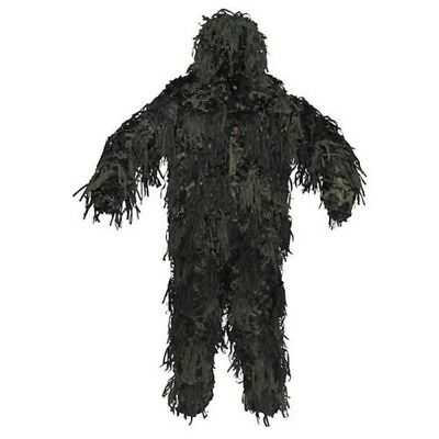 Bundeswehr / Bw Costume de Camouflage Combinaison Globale Ghillie Chacal 3D Body