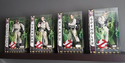 "GHOSTBUSTERS 1/6 figures NEW Matty Collector 12"" scale set of 4"