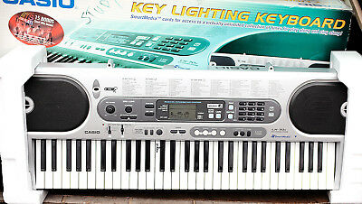 casio lk 70s piano keyboard with light up keys very good condition