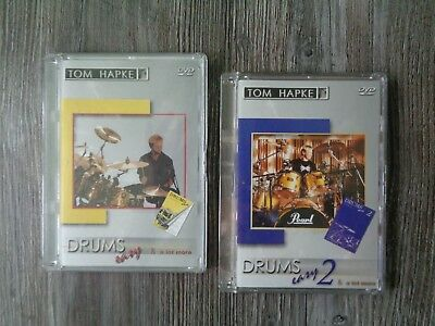 "Tom Hapke ""Drums Easy ""Schlagzeug Lehrbuch play along DVD Noten 66Drumsolos"