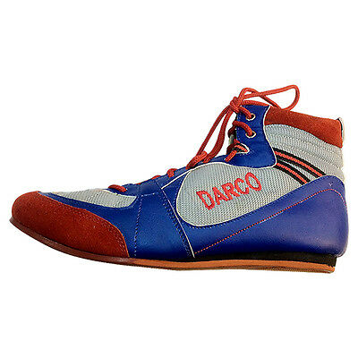 BOXING SHOES Boots DARCO LOW TOP GYM RING Juniors & Adults FIGHT GRIP UK