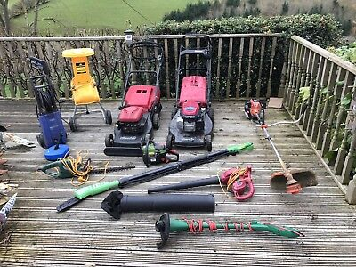 Electric/Petrol Gardening Tools/Equipment - Lawnmowers, Strimmers, Hedgecutter