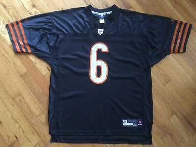 22fa3bbf85b CHICAGO BEARS JAY Cutler Sewn On Field Reebok Jersey Sz 50 EUC ...