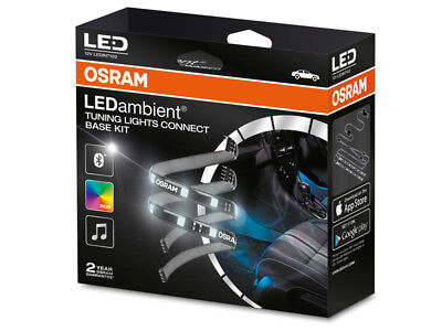 Osram RGB LED Ambient Tuning Lights Connect Base Kit APP Bluetooth iOS Android