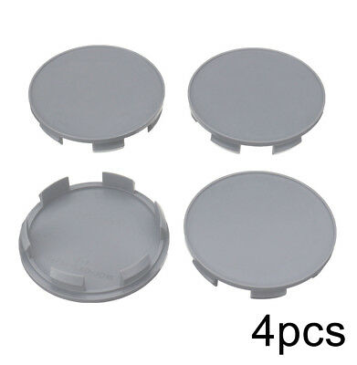 4×69/66mm Car Auto Wheel Center Hub Cover Cap Gray For Honda Pilot Accord Civic