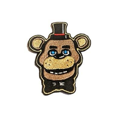 FNAF Five Nights at Freddy's Freddy Fazbear embroidered iron on patch 96mm