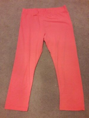 Girls cropped leggings age 11 - 12 years
