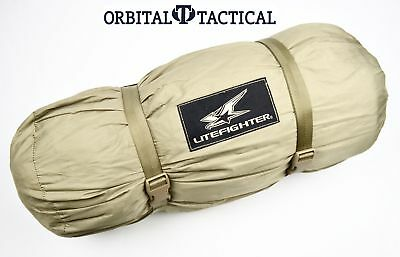 Litefighter 1 Combat Tent Rip Stop Tan Base Shelter Only