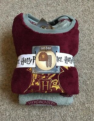 Harry Potter Boys Pyjamas 6 7 8 9 10 11 12 13 Years Gryffindor Hogwarts Primark