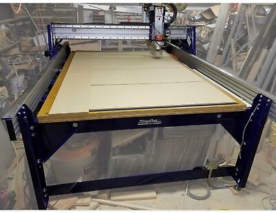 ShopBot PRS Alpha 60x96 CNC Milwaukee 5625 router Vacuum hold down table - A 10!