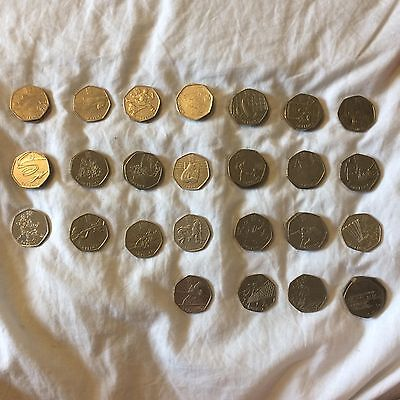 Olympic 50P 2011 Coins