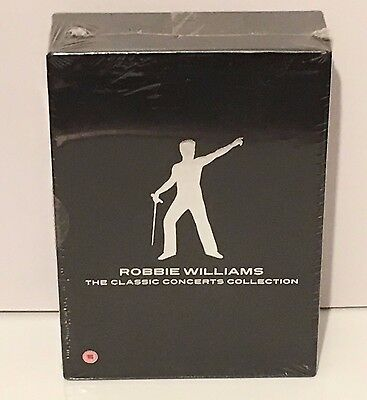Robbie Williams The Classic Concerts Collection - NEW AND SEALED