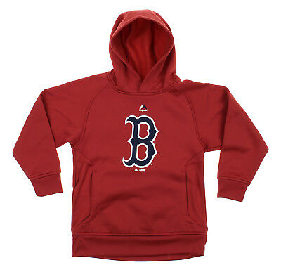 MLB Youth Boston Red Sox FLC Baseball Team Logo Pullover Hoodie