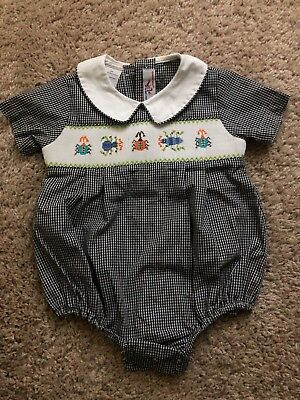 smocked bubble 6 months