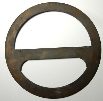 1800's Antique Brass Stanley Turnstyle London Protractor