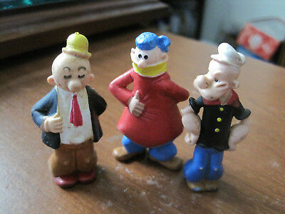 Popeye, Dufus and Wimpy foreign figures   60's - 70's