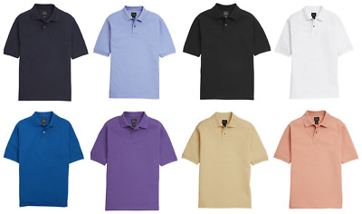 Jos A Banks Mens Classic Collection Tailored Fit Pique Polo Shirt 100% Cotton