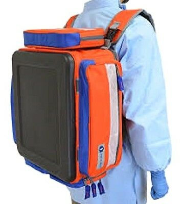 Large Plano Trauma Bag, Orange Lockable Zippers 911100 EMT EMS Medical Emergency