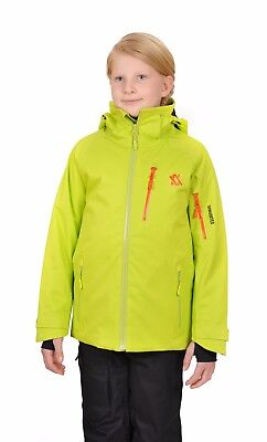 VOLKL Kids Youth Team Race Ski Jacket ~ Insulated  BLUE, LIME, RED NEW 462201