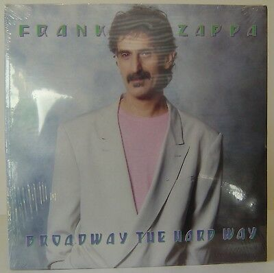 Frank Zappa Broadway The Hard Way Cassette Tape Us Cad