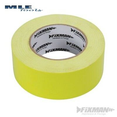 Fixman 190469 Heavy Duty Clear Duct Tape 50mm x 20m