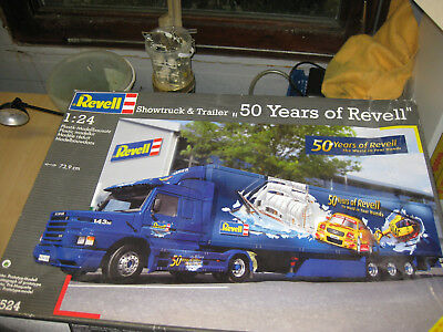 Scania Showtruck & Trailer 50 Years of Revell 1:24 Revell 07524