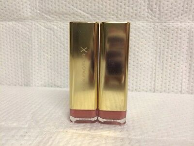 Lot Of 2 ~ Max Factor Lipstick Simply Nude 725   New And Sealed