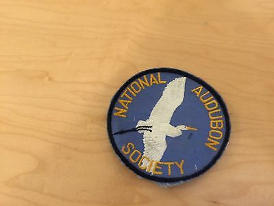 audubon society patch, new old stock, 1970's