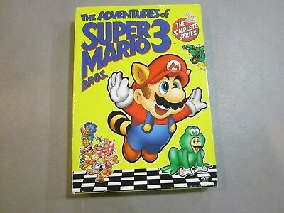 SUPER MARIO BROS 3 (1990, 3 DVD) The Complete Series- FREE SHIPPING