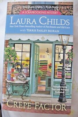 Crepe Factor by Laura Childs (2017, Paperback)