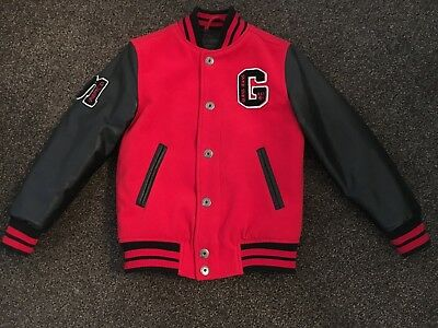 Guess jacket red & black age 8 years IMMACULATE CONDITION bought in America