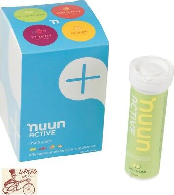 Nunn Active Hydration Tablets--Original Mixed Pack--Box Of 4 Tubes