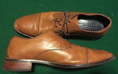 Cole Haan C11632 Mens Size 14M Lenox Hill Cap Ox Oxford British Tan Shoes