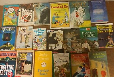Lot of 55 Chapter Scholastic Disney RL 2 3 4 5 Child Books AR MIX UNSORTED #B20