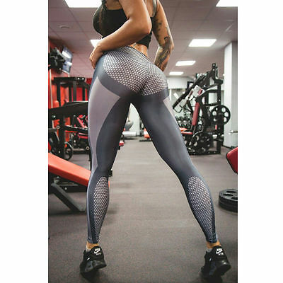 Women Sports YOGA Running Gym Fitness Leggings Pants Jumpsuit Athletic Wear