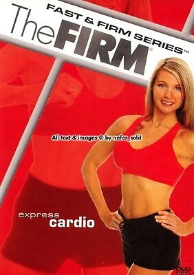 THE FIRM ~ FAST & FIRM SERIES ~ EXPRESS CARDIO ~ DVD new