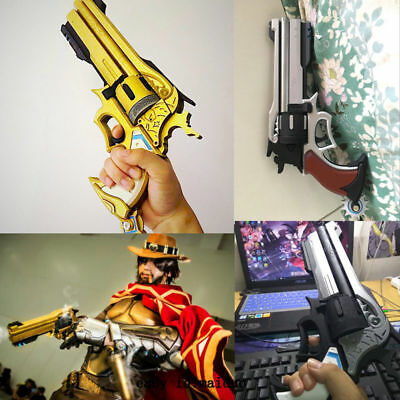 Jesse·Mccree Cosplay Prop Handheld PVC Peacemaker 1:1 Skin Colors Toy Collection