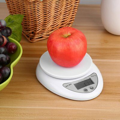 5kg 5000g/1g Digital Electronic Kitchen Food Diet Postal Scale Weight Balance CA