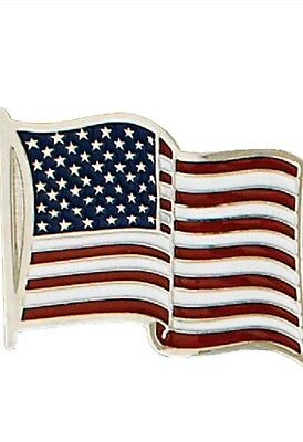 Proud to be American Flag Belt Buckle