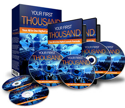 Your First Thousand - Step By Step Blueprint To Make Money Online Videos CD PDF