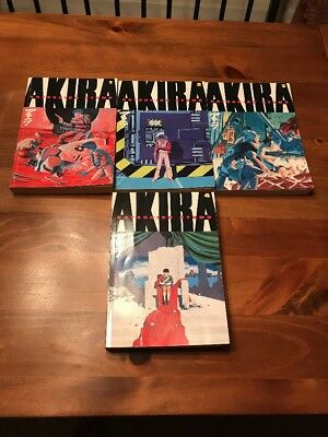 AKIRA MANGA TPB SET VOLUMES 1-4 ENGLISH Dark Horse Comics Editions