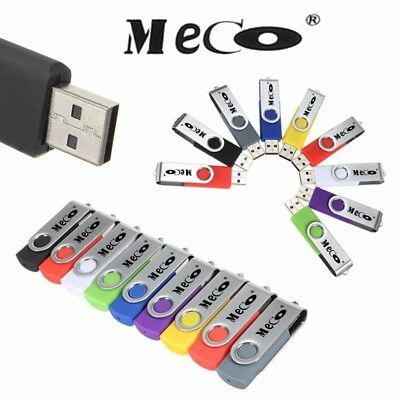 MECO 10x Lot Sale 2GB/1MB USB 2.0 Flash Drive Memory Stick Storage Thumb Disk AU
