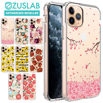 iPhone X XR XS Max Case 8 7 6 Plus 5 Flower I Clear Bumper Print Cover for APPLE