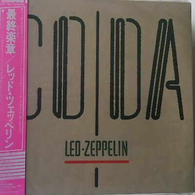 LED ZEPPELIN - Coda CD Mini LP 2003 Swan Song Japan AMCY-2442 AS NEW!